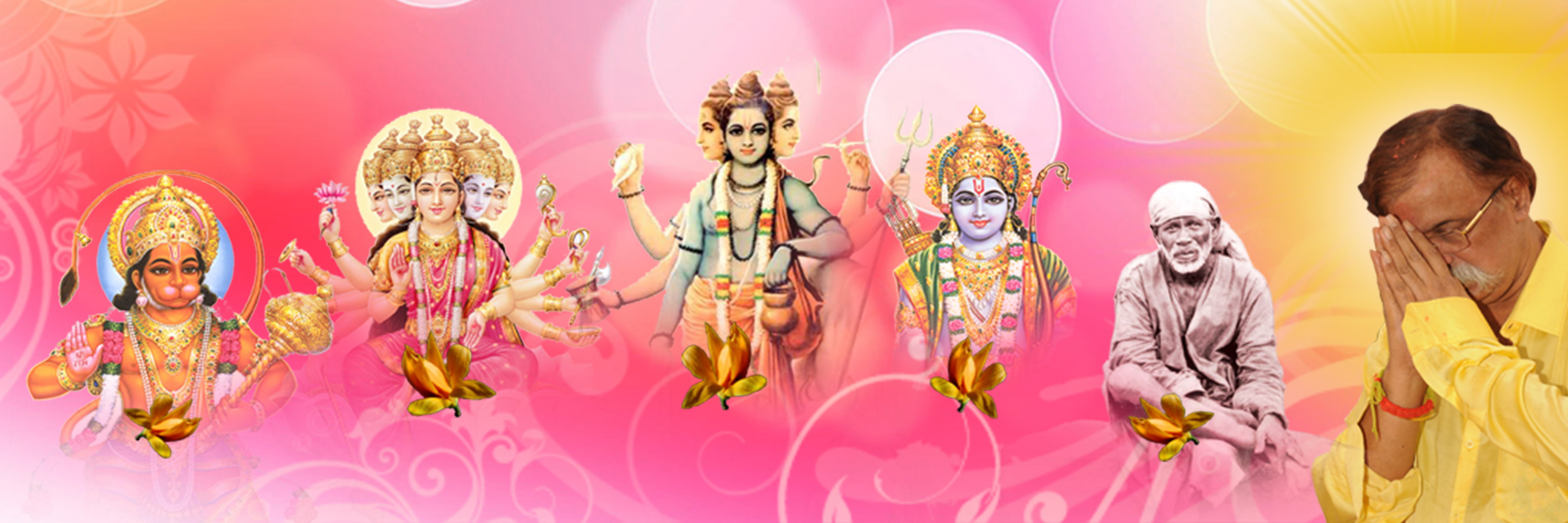 AniruddhaFoundation-Panchagurus-His Five Gurus