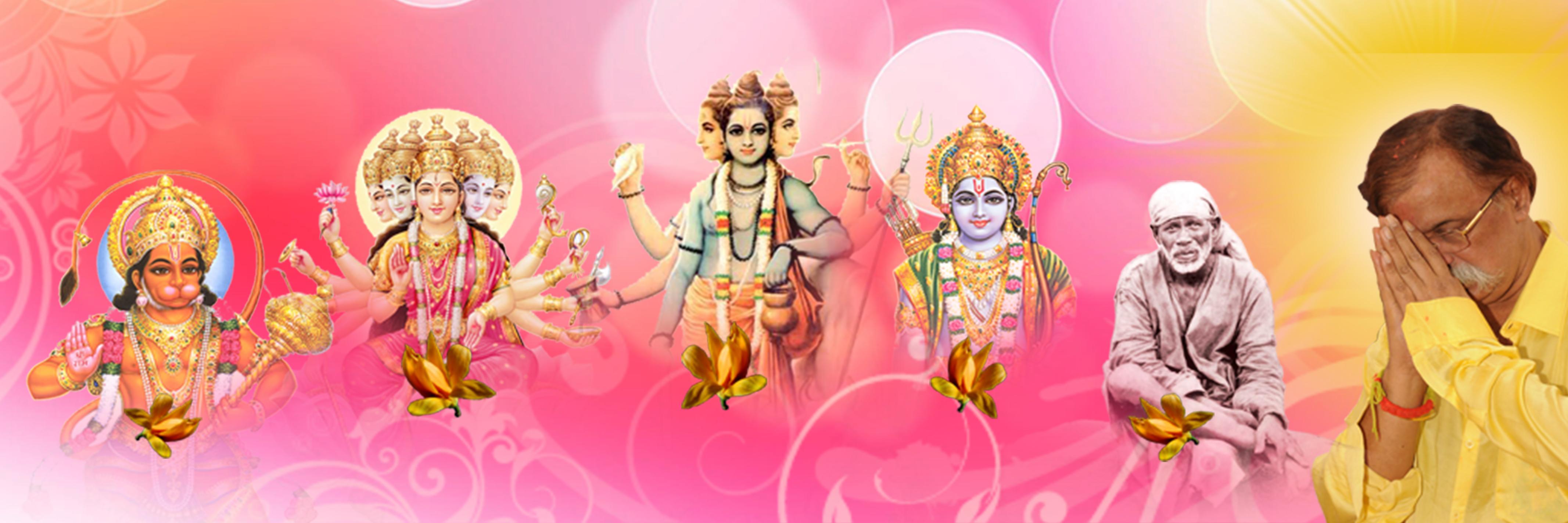 AniruddhaFoundation-Panchagurus-His Five Gurus